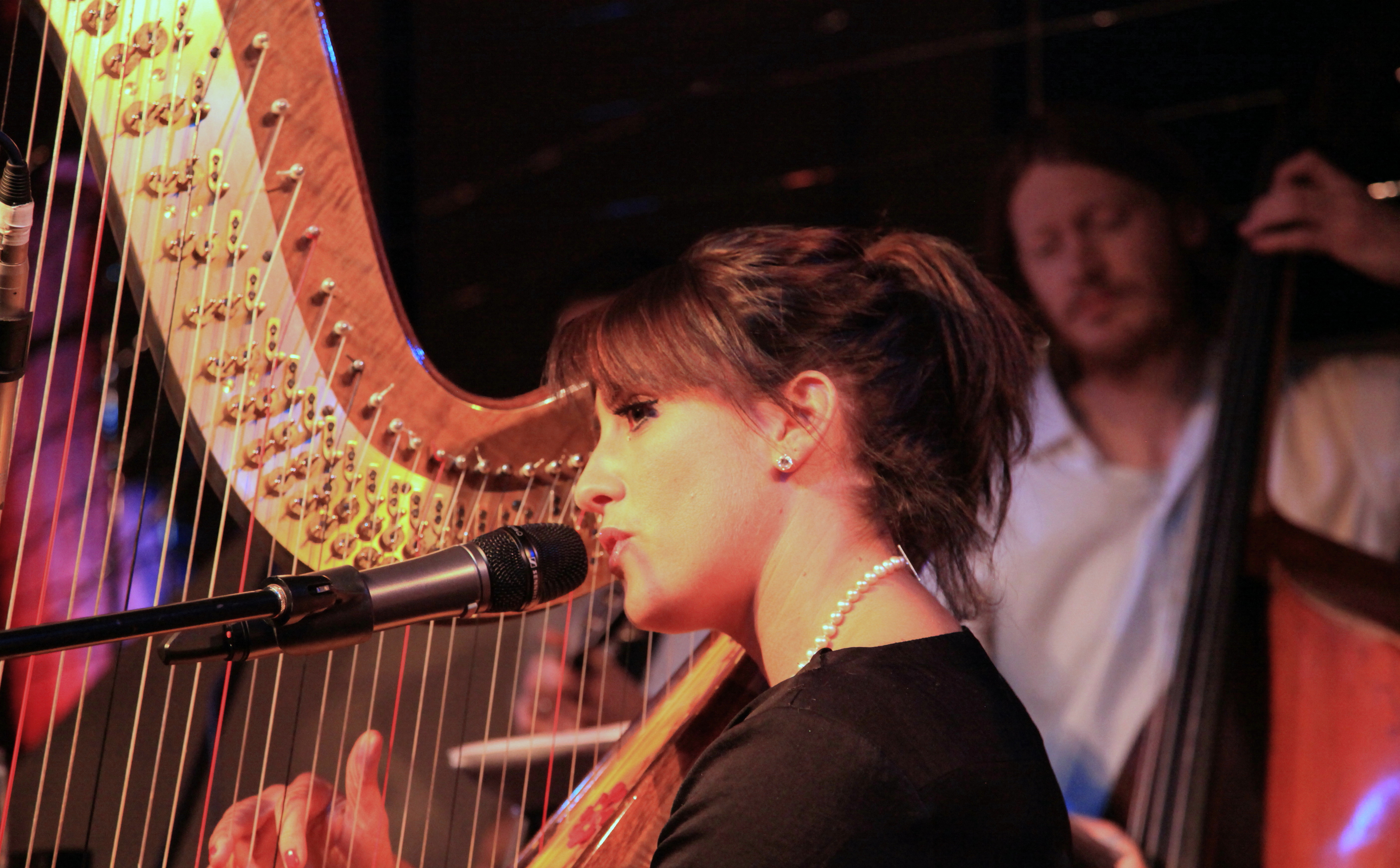 Lucinda Belle and Harp