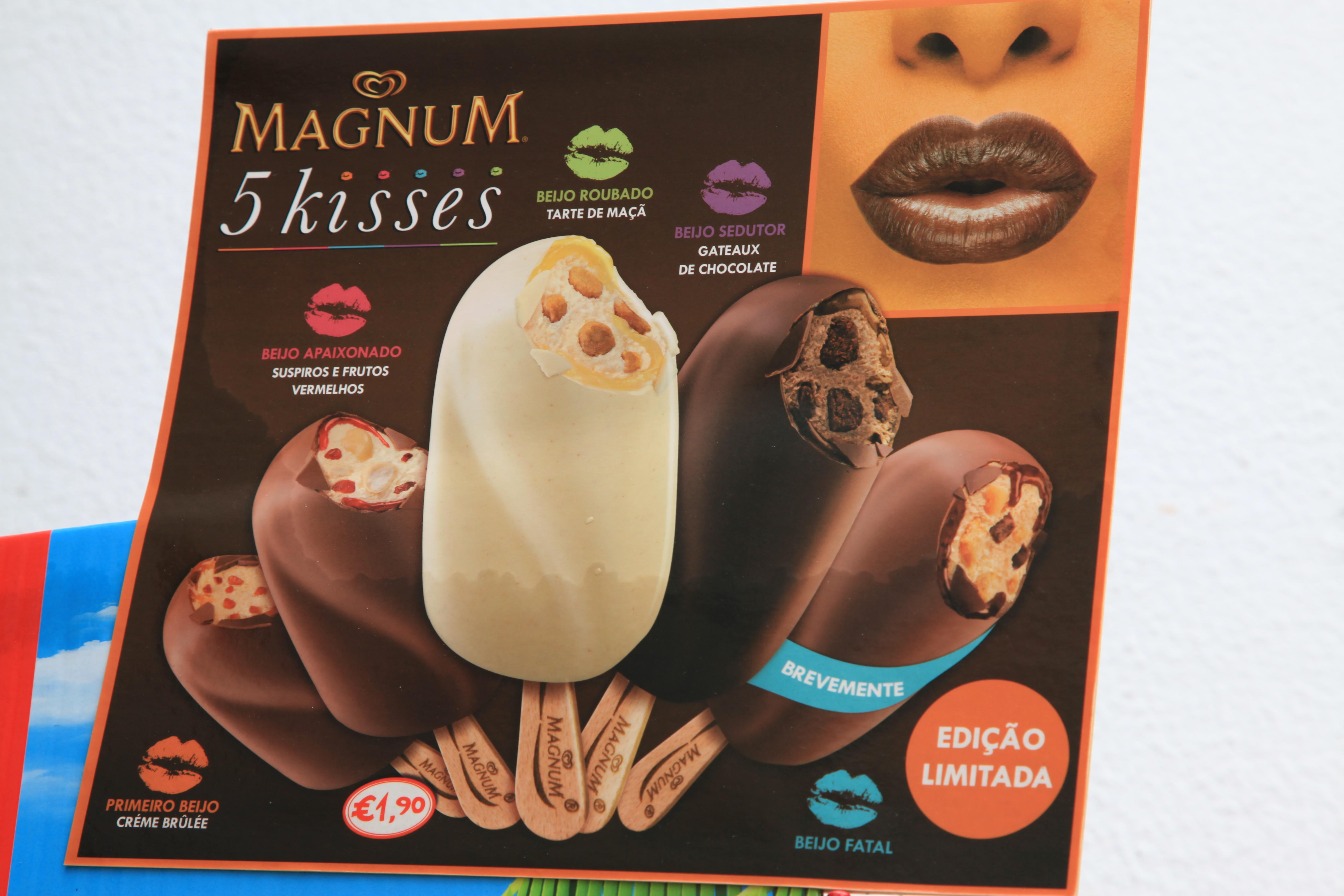 magnum kisses