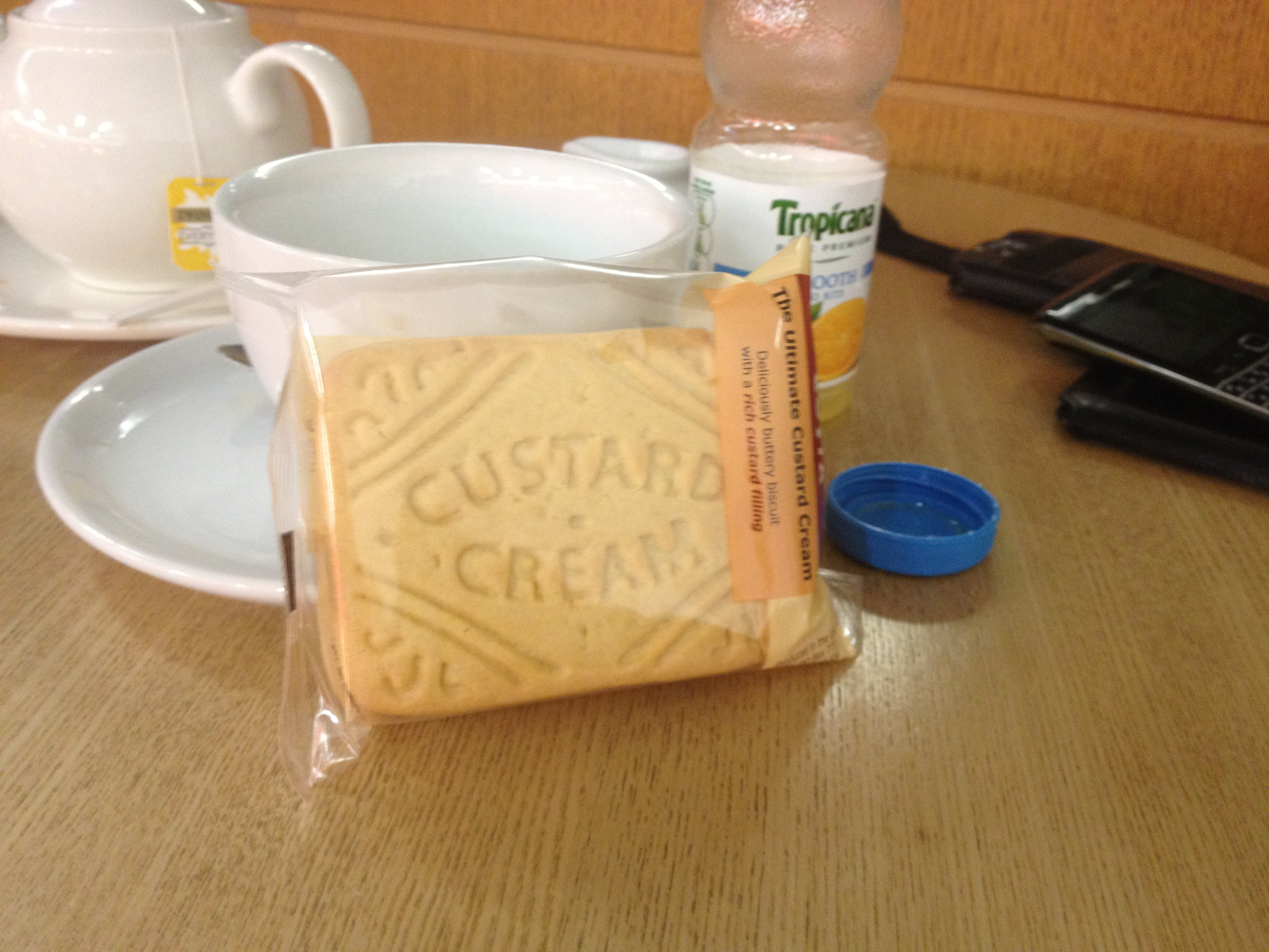 Custard Cream. Copyright Chris Bushe