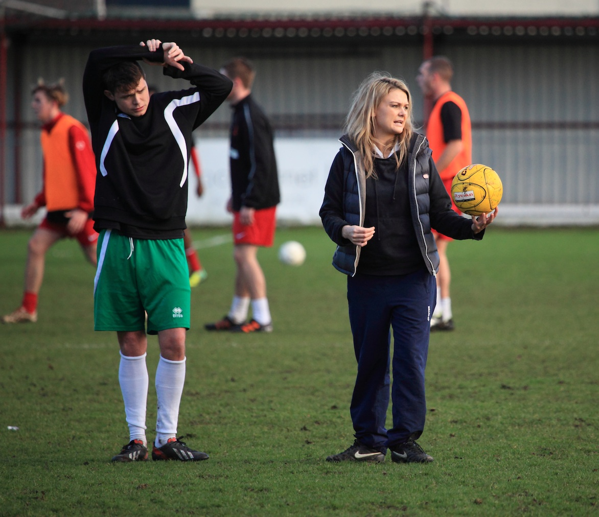Rachel Rees. Physio at Bognor