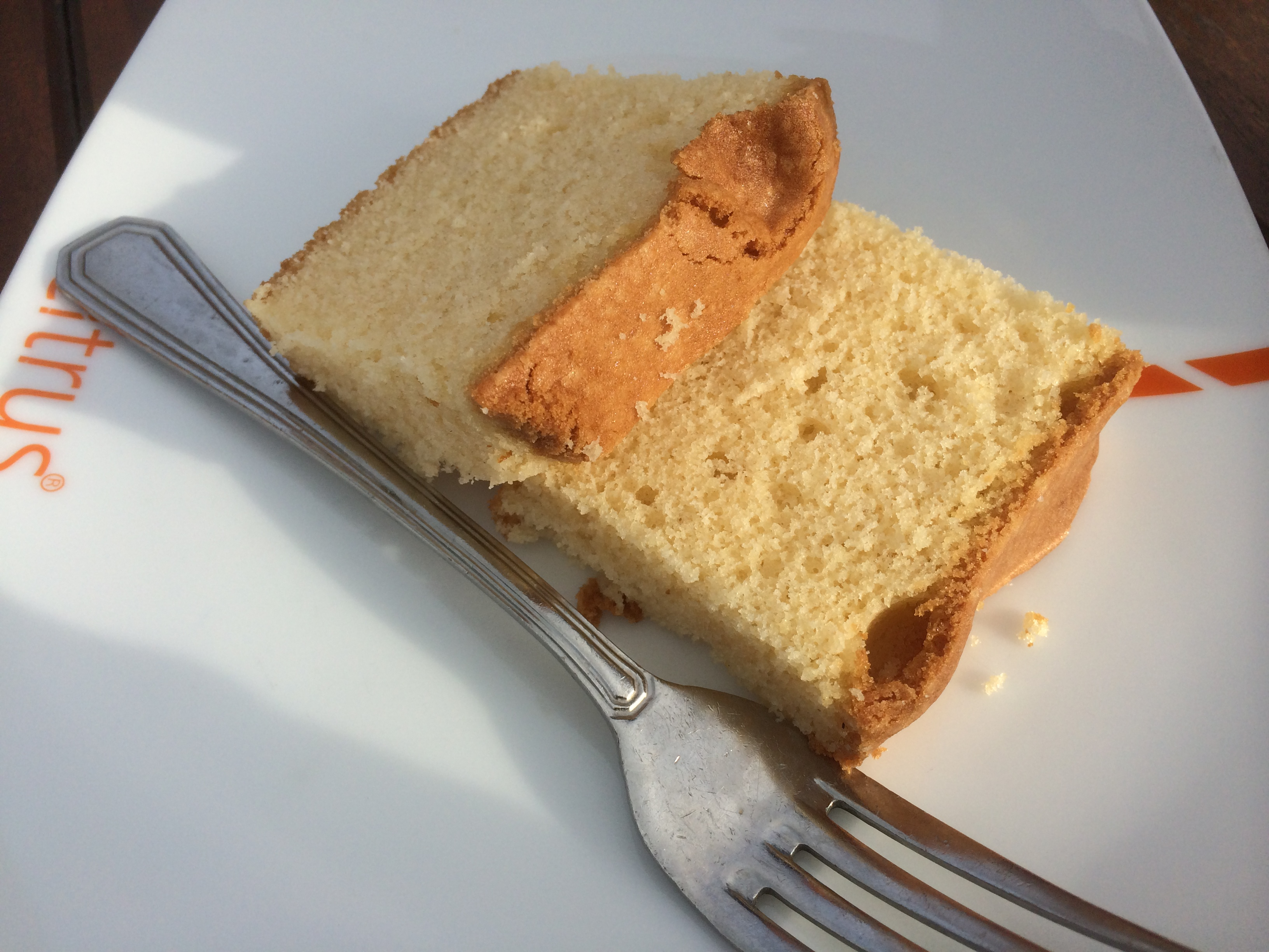 Madeira cake or butter cake!Copyright Chris Bushe