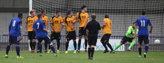 Met Police score from a free kick to equalise