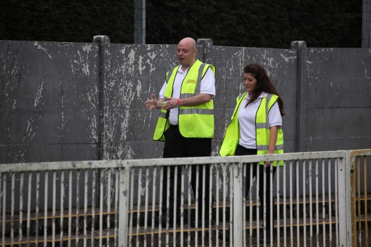 Football Stewards make you feel safe