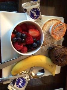 A small USA breakfast