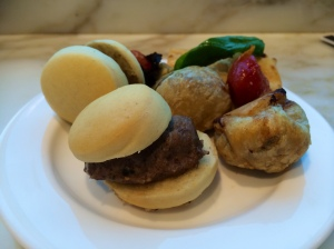 Sliders and Beef Wellingtons