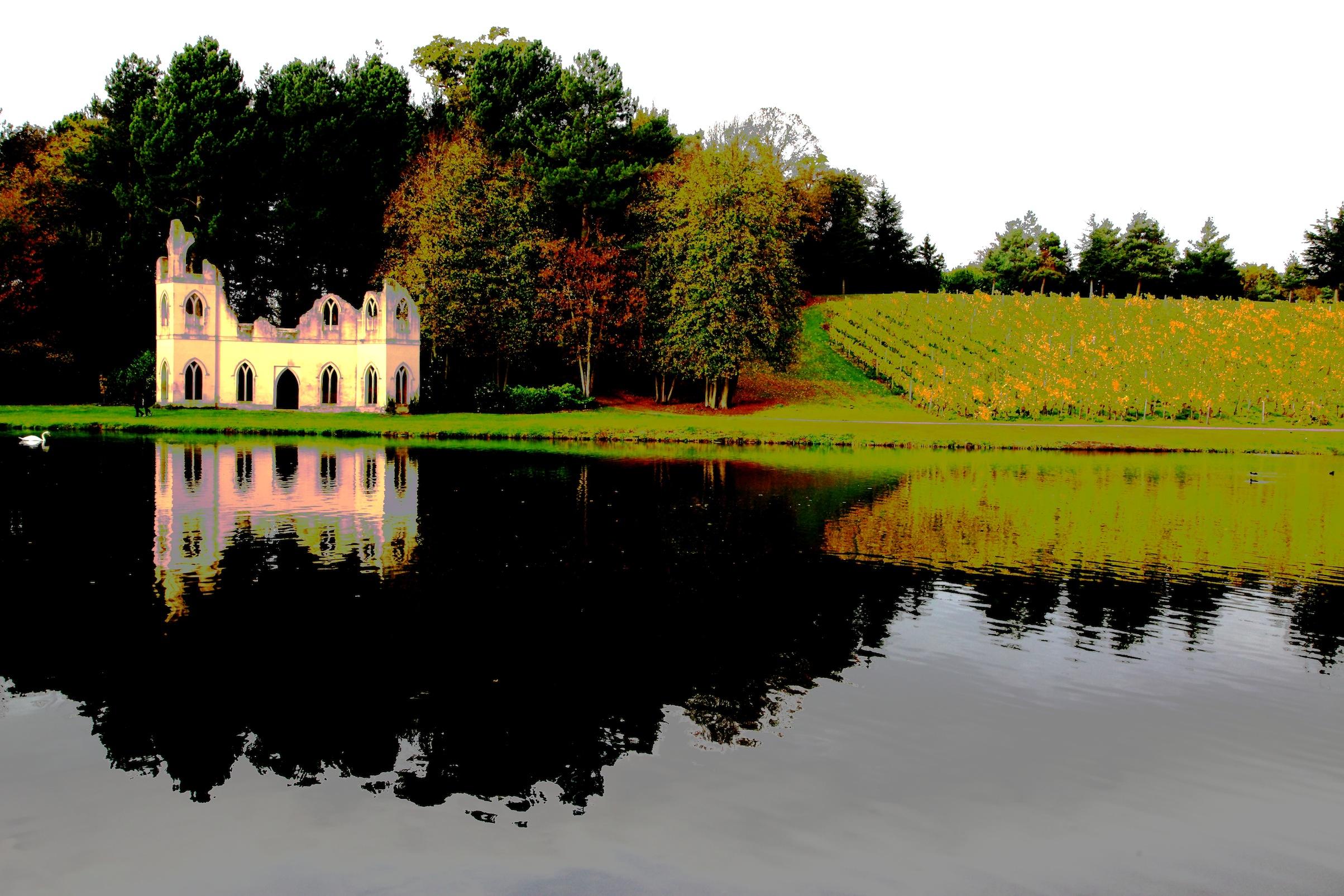 Painshill Park In Cobham Surrey