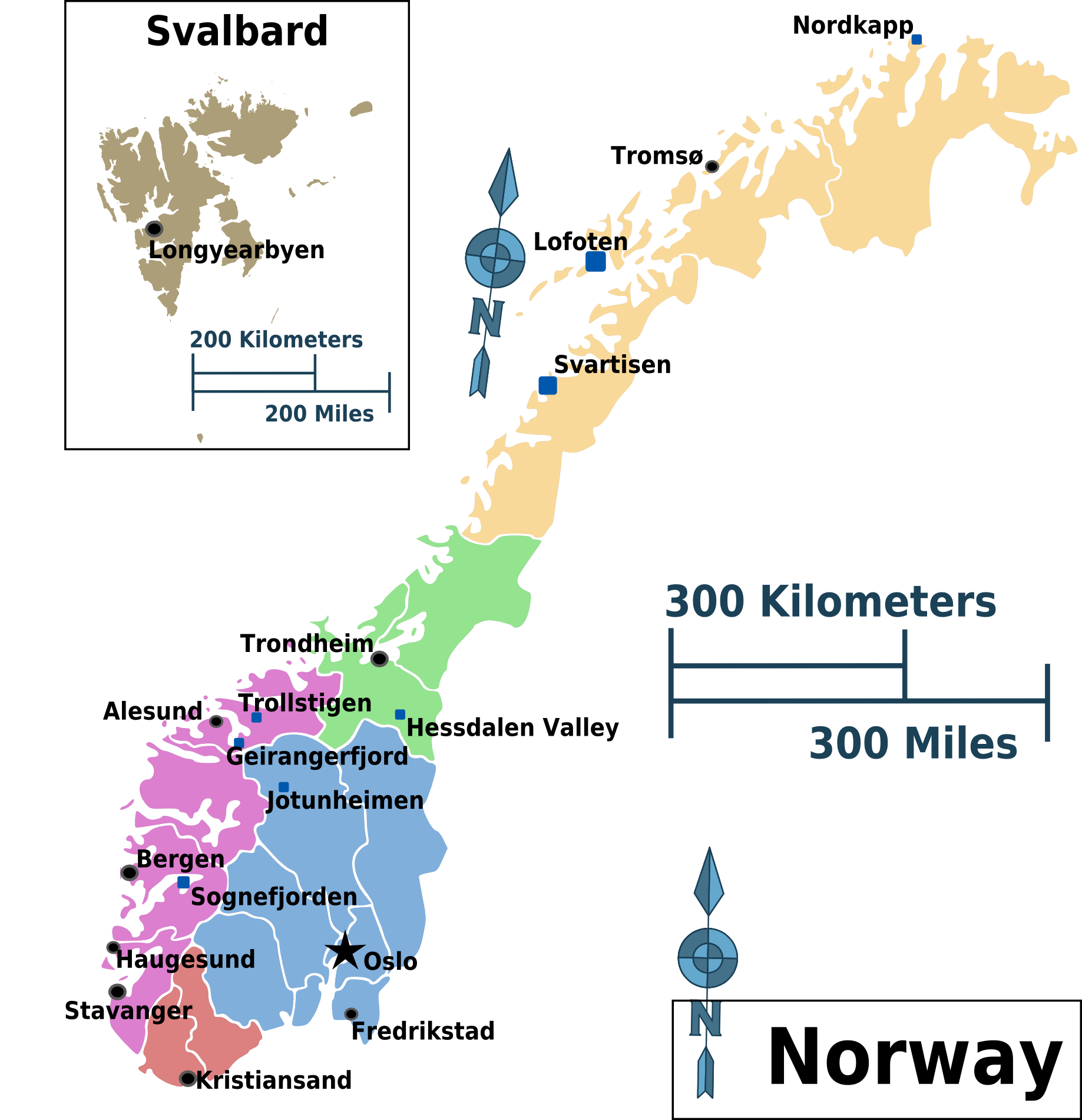 Ice And Snow What Can We Learn From Scandinavia Oslo Airport - Norway map with airports