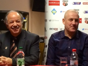 Cliff Crown laughs at Mark Warburton budgetary ideas