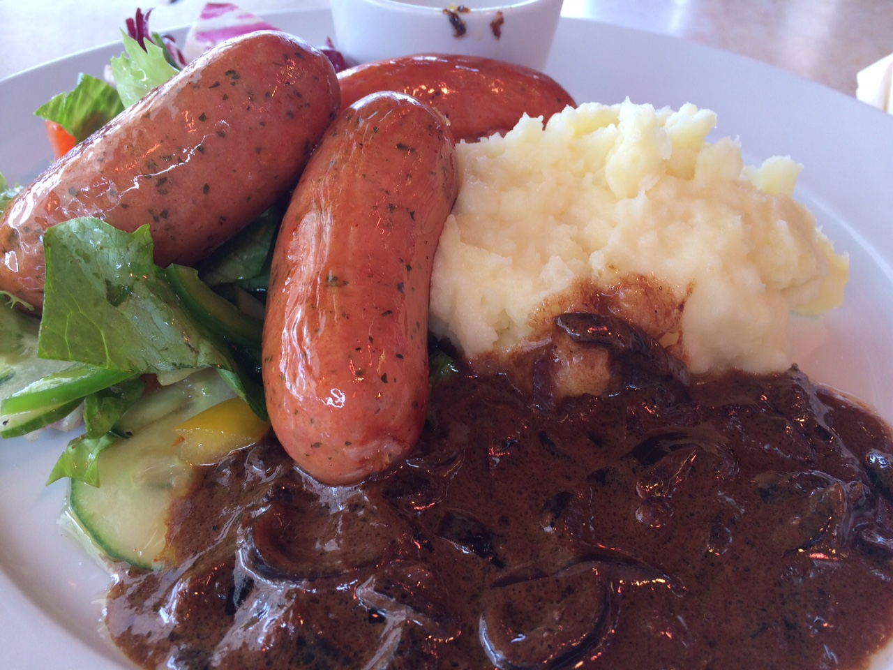 Sausages and Mash