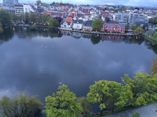 View of lake at 4.30 am