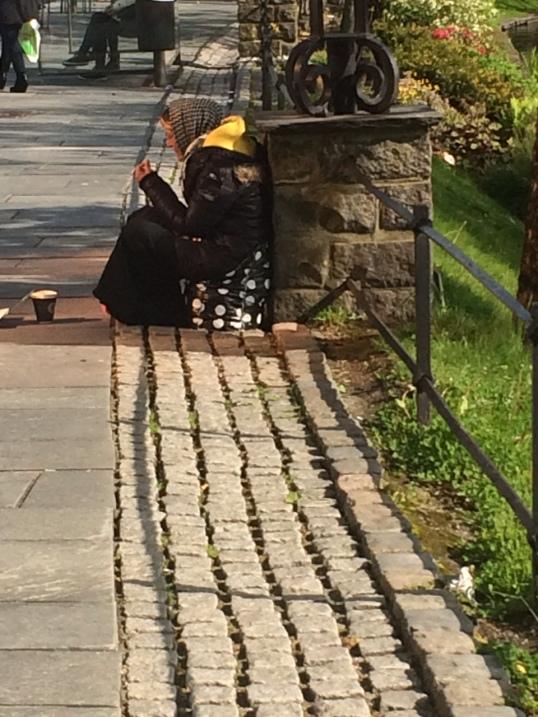 Beggars in Stavanger