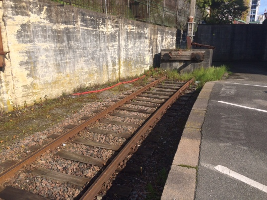 Stavanger Railway Station. The end of the line it seems