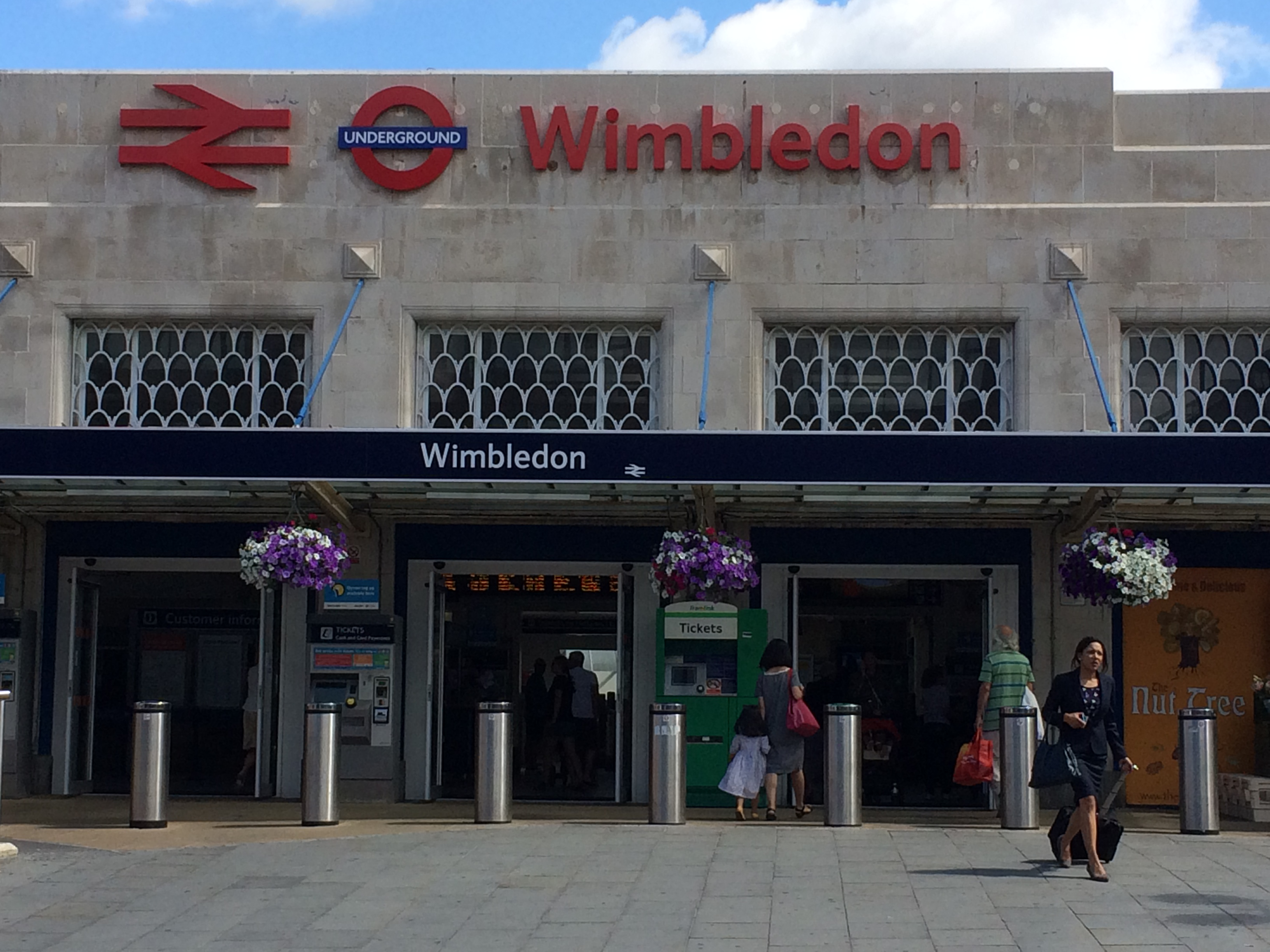 Wimbledon Train Station