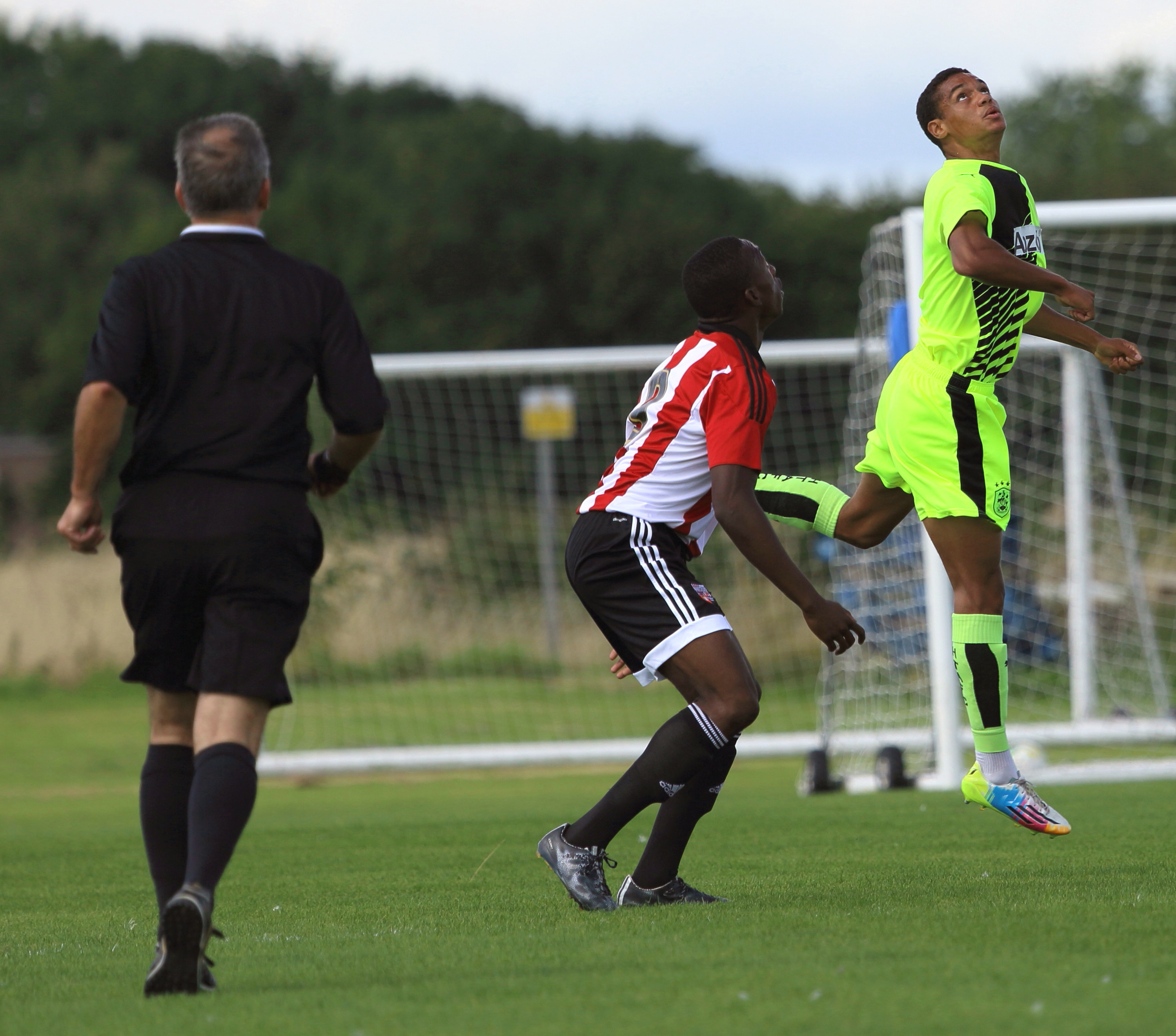 Brentford v Huddersfield Under 18. Sept 2015