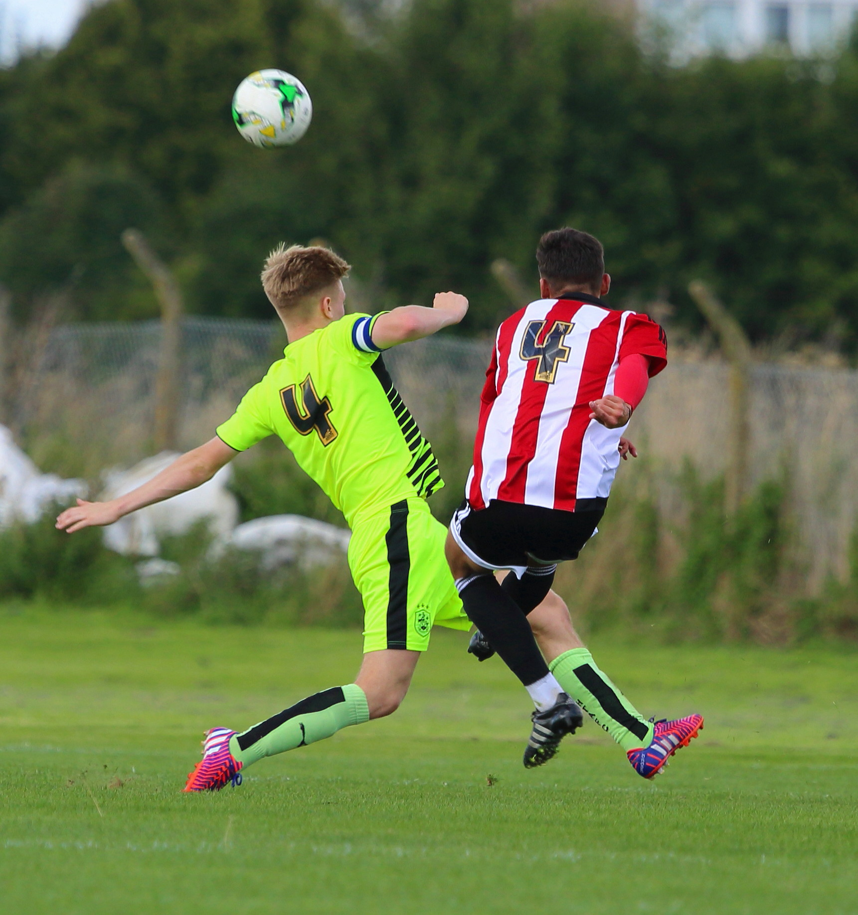 all the 4's.Brentford v Huddersfield Under 18. Sept 2015