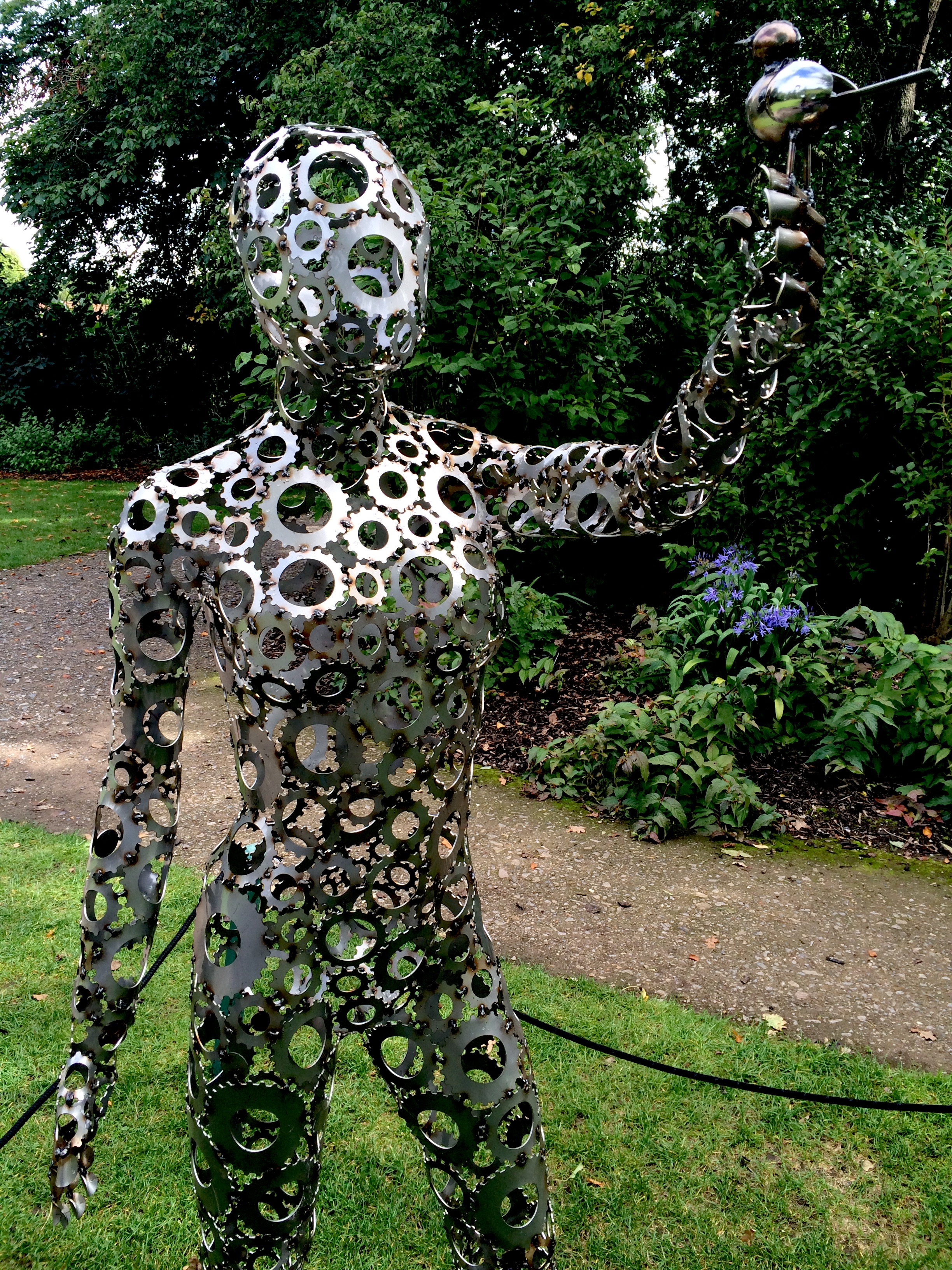 Wisley RHS sculpture exhibition