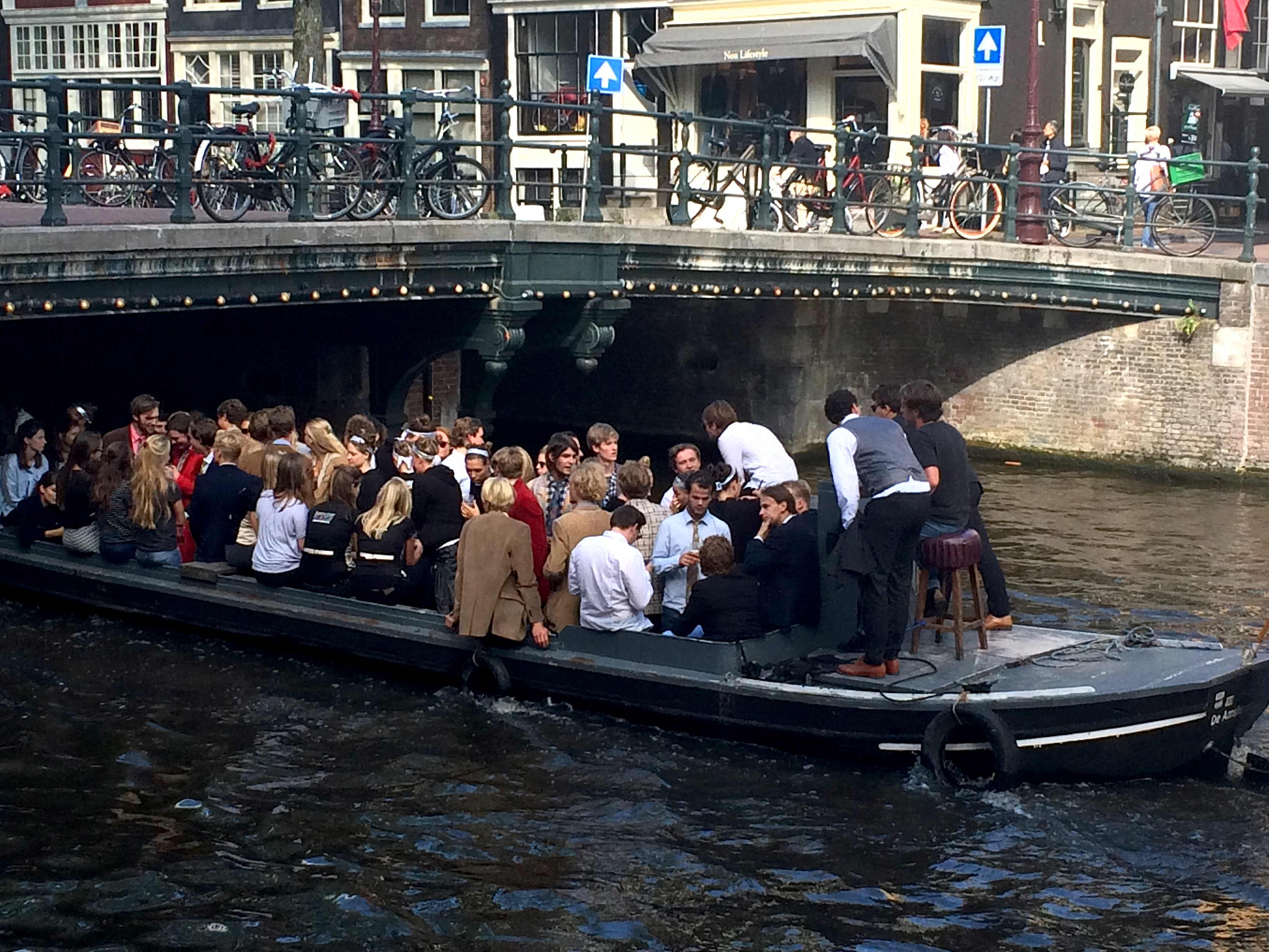 Boat trips on the canals Amsterdam