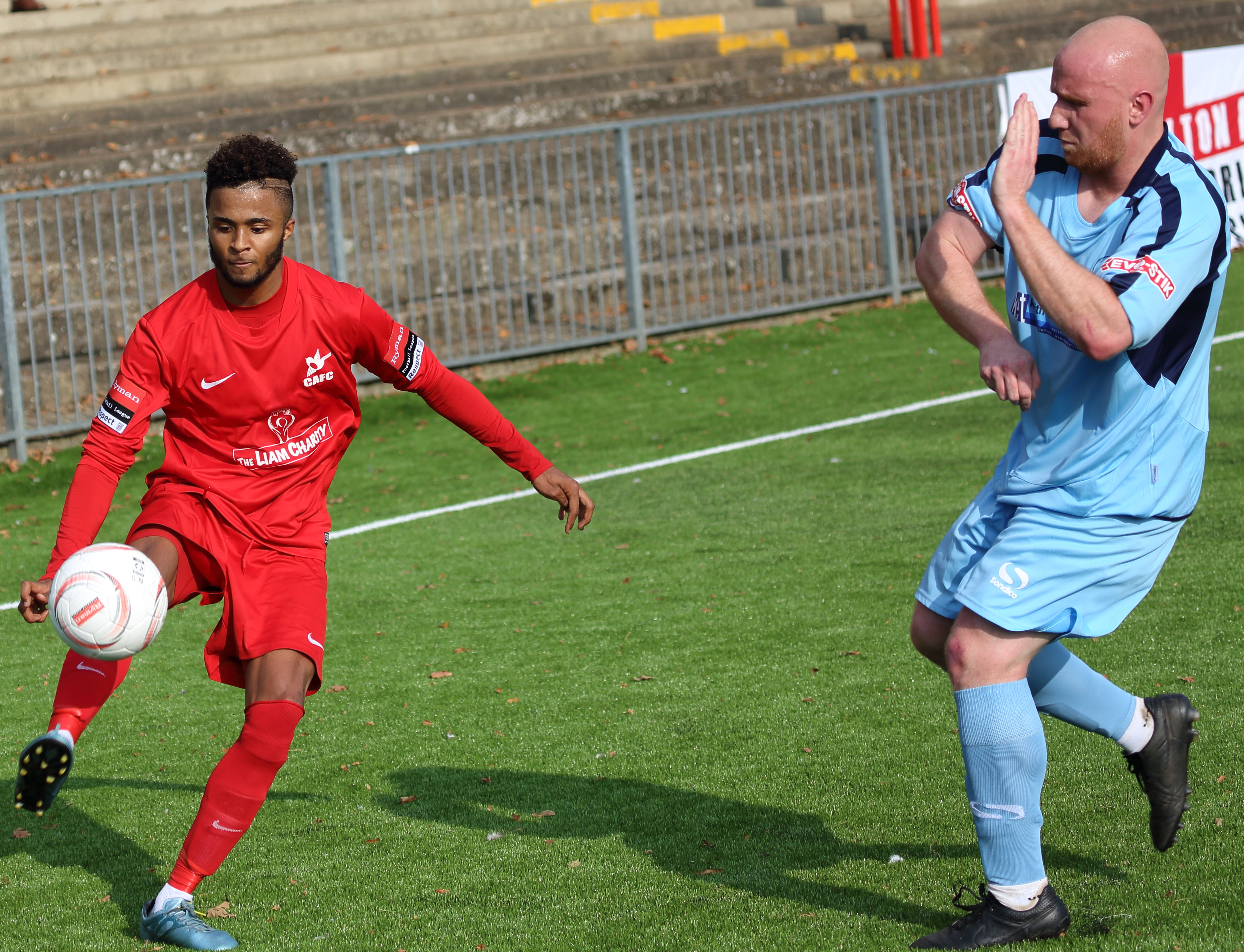 Carshalton v Leighton FA Trophy 2015