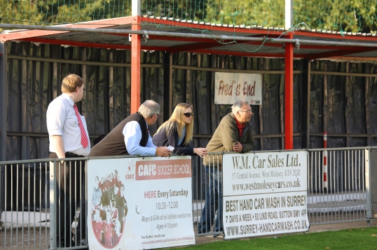 Colston avenue Carshalton AFC. Freds End