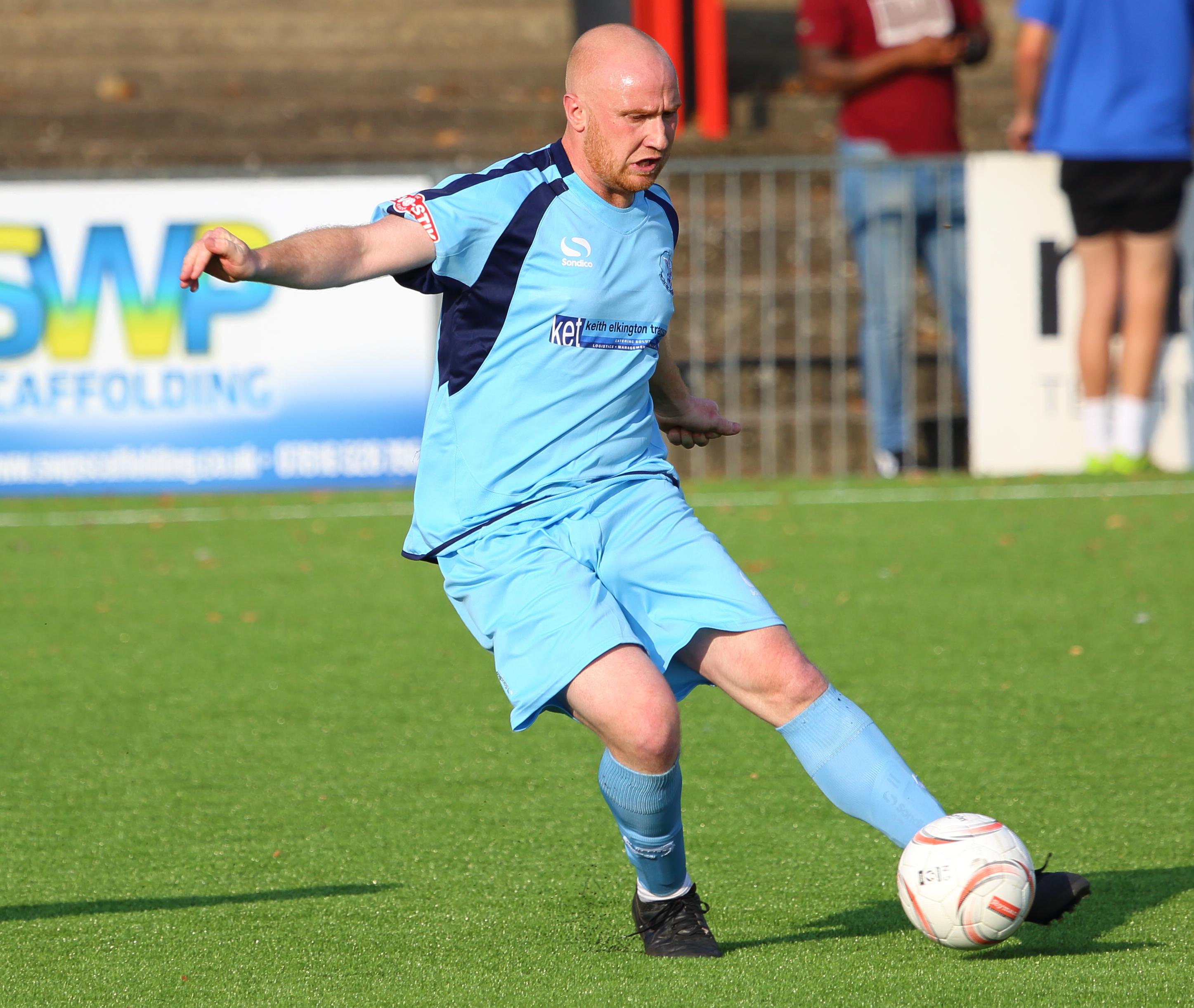 Alex Woodfine. Carshalton v Leighton FA Trophy 2015