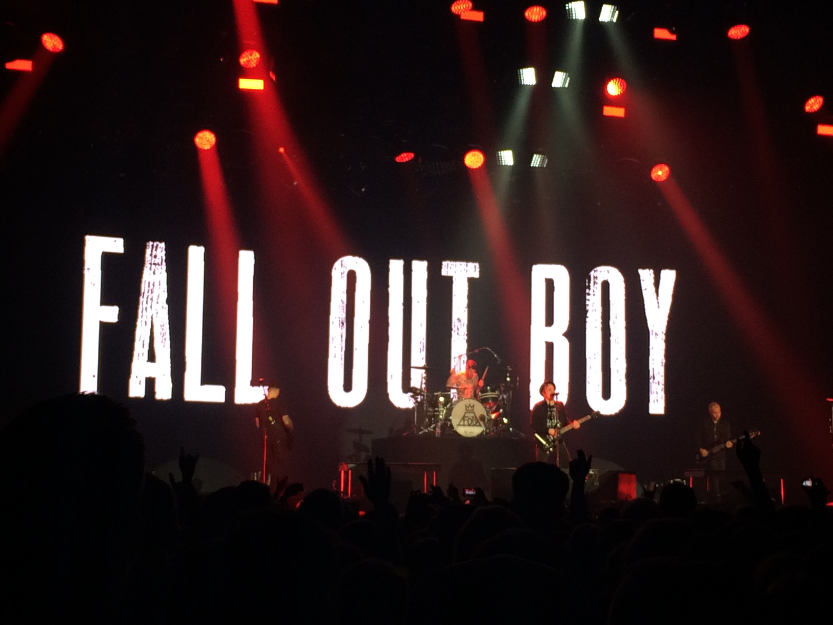 Fall out boy SSE Wembley 2015