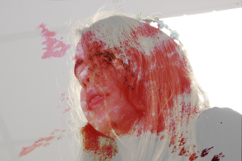 Rose splat lucy
