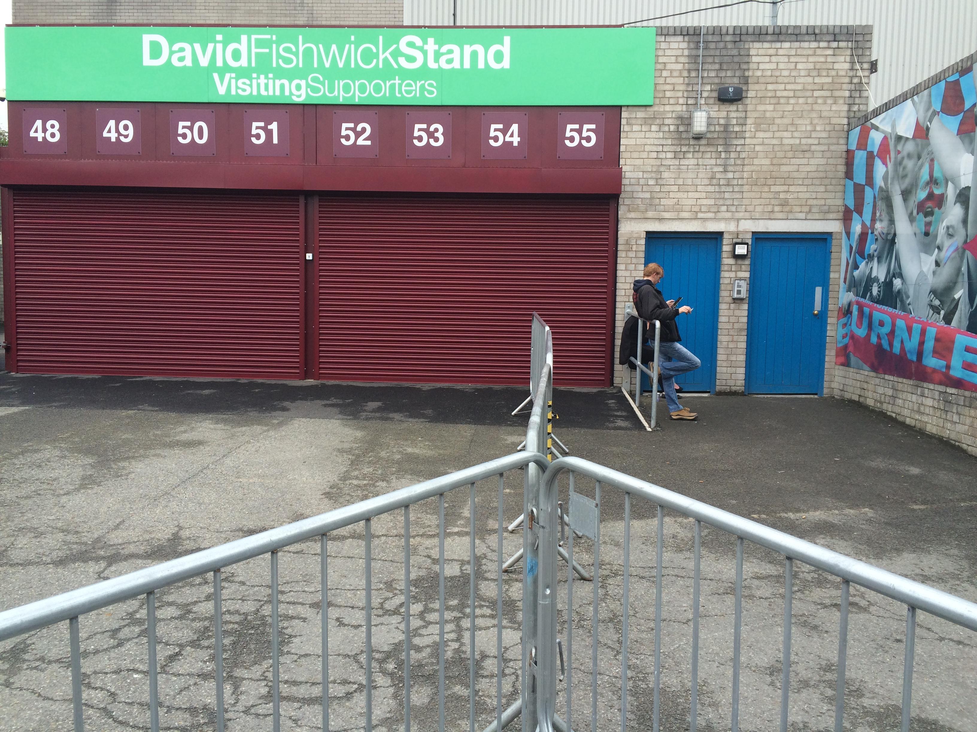 Away Fans entrance